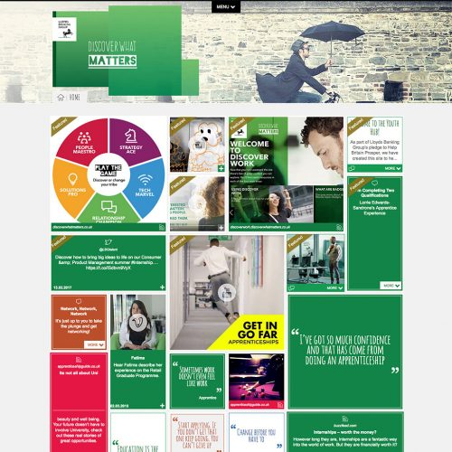 Discover What Matters – Lloyds Banking Group