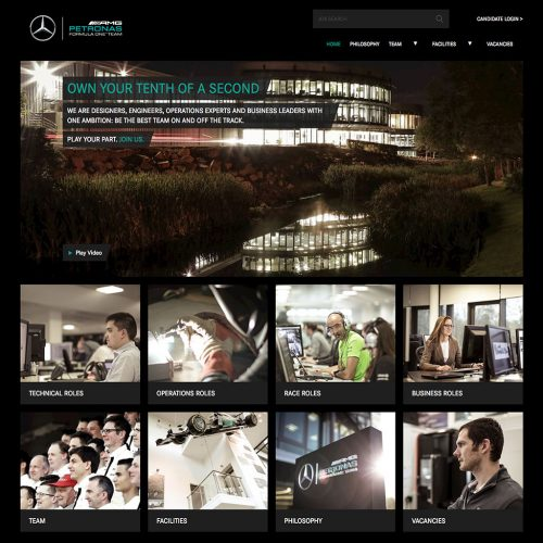 Mercedes AMG F1 Careers